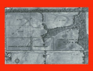 parrish acres east entire parcel map